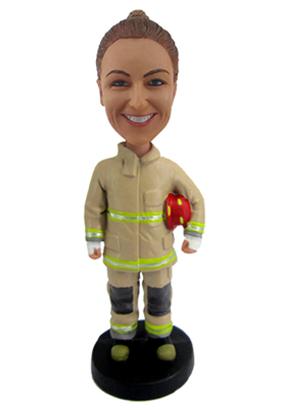 Female Fire Fighter